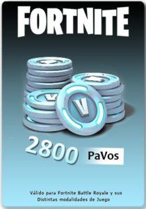 pavos 2800