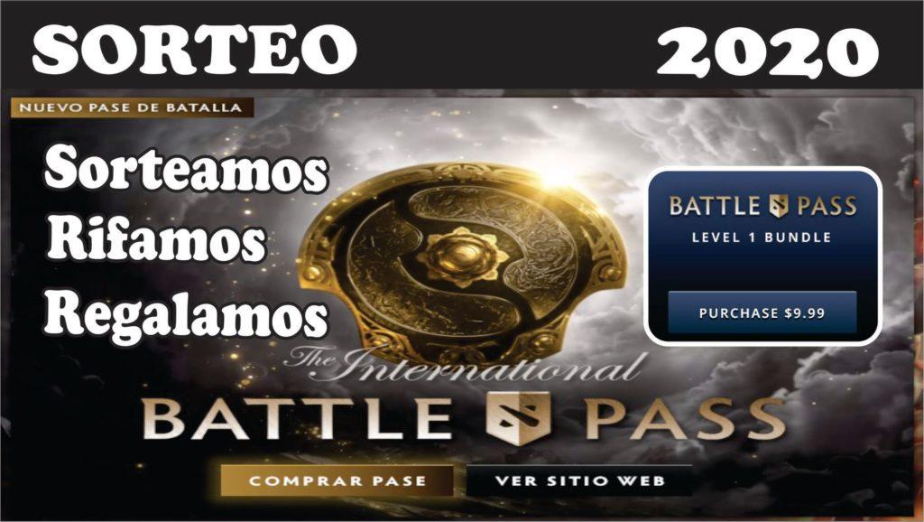 Sorteo nuevo The International Battle Pass 2020 de Dota 2